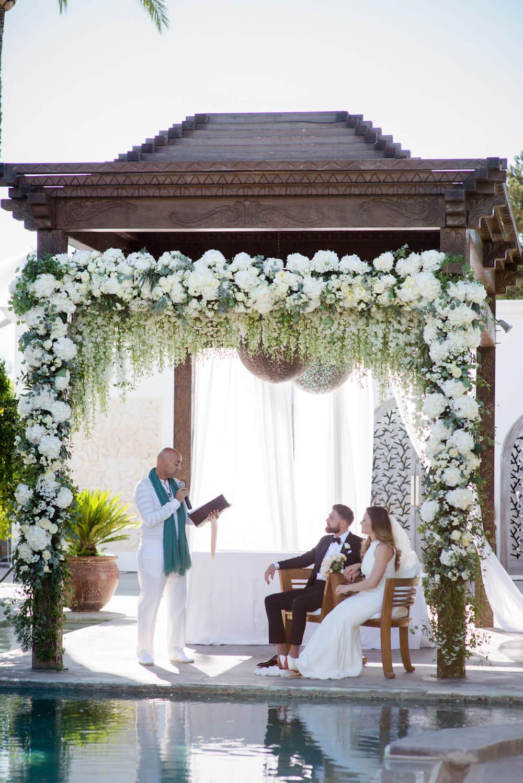 bride groom ceremony vows happy laughter