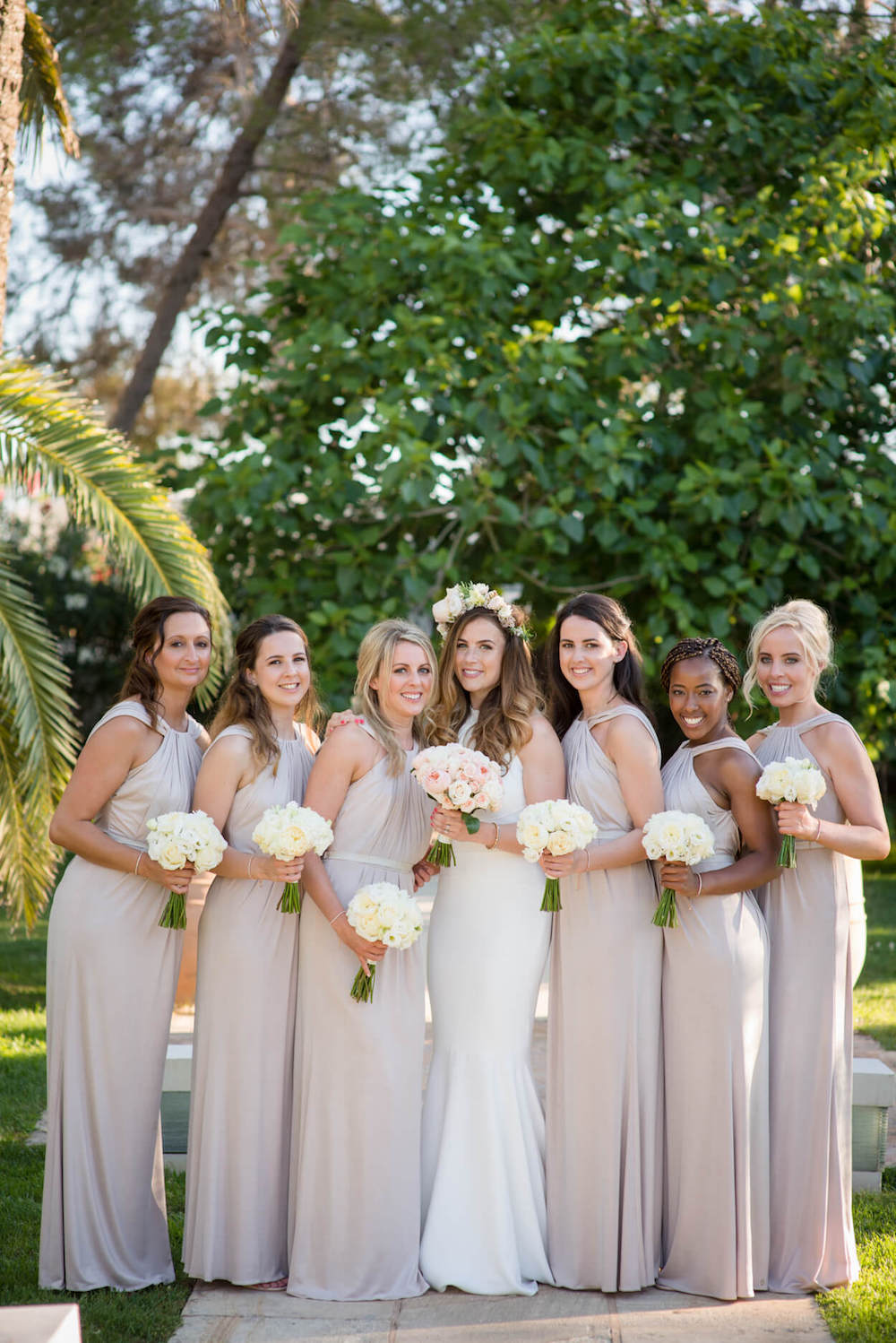 bride bridemaids formal photo jenny packham bridal