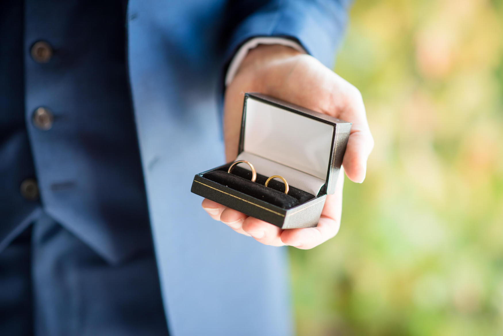 wedding rings best man