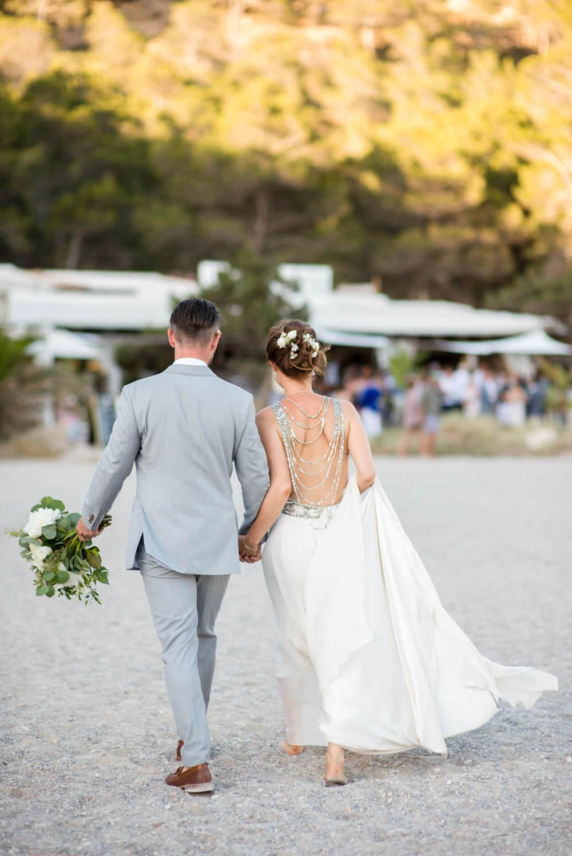 bride groom beach wedding feet sand happy laughter elements benirras amanda wakeley