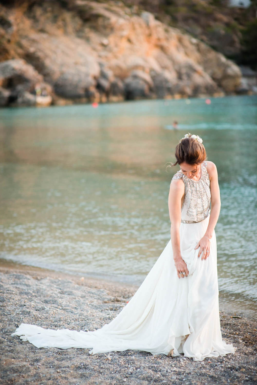 bridebenirras sunset kings rock beach blue sea amanda wakeley