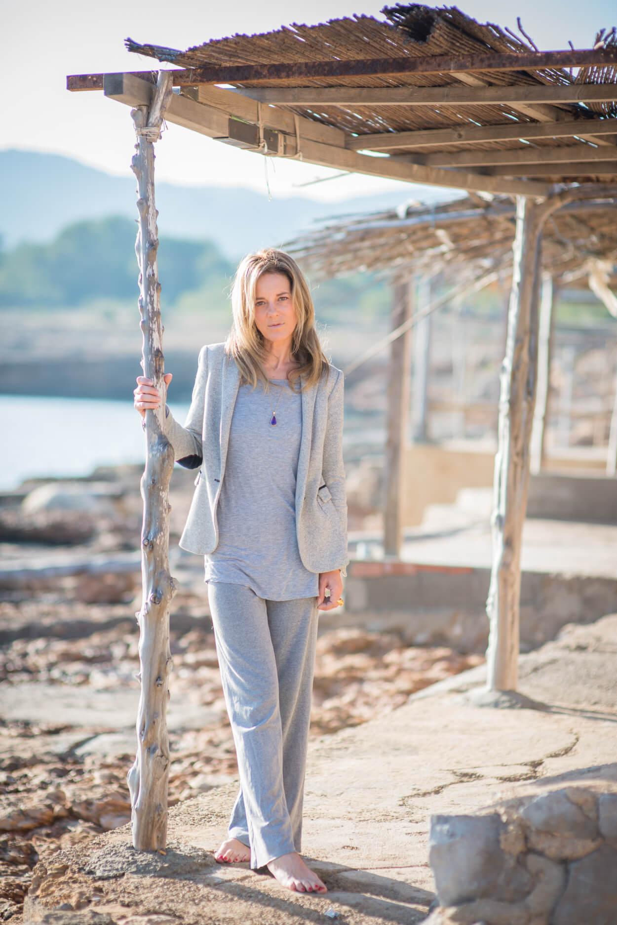 Tina Cutler portrait boat shacks morning light