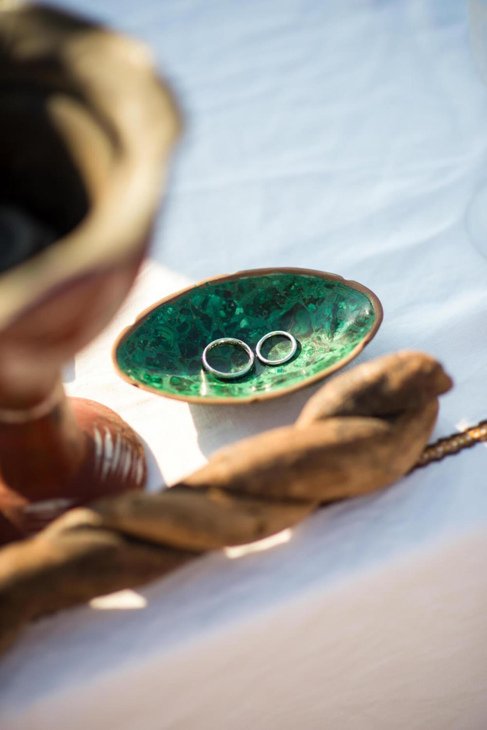 wedding ring dish human ceremony