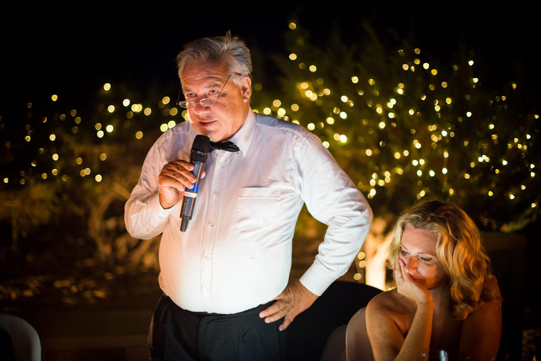 father of bride speech fairy lights